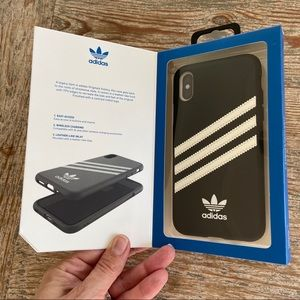 Adidas 3 Stripes Snap Case for IPhone X /XS BLACK
